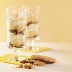 Gingersnap Pear Trifles recipe