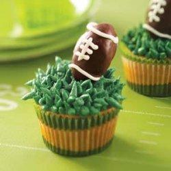 Truffle Football Cupcakes recipe