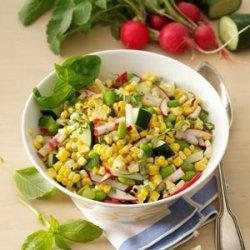 Farmer's Market Corn Salad recipe