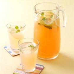 Fresh Peach Lemonade recipe