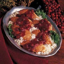 Tart Cranberry Chicken recipe