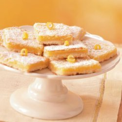 Homemade Lemon Bars recipe