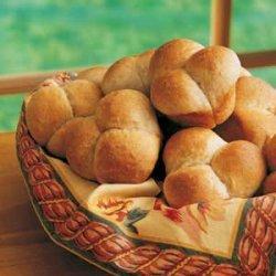 Whole Wheat Refrigerator Rolls recipe