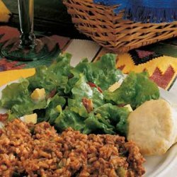 Wilted Lettuce Salad recipe