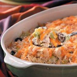 Crowd Chicken Casserole recipe