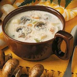 Mushroom and Potato Chowder recipe