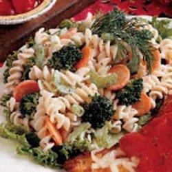Cucumber-Dill Pasta Salad recipe