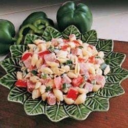 Ham Pasta Salad recipe
