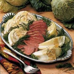 Dilly Corned Beef and Cabbage recipe