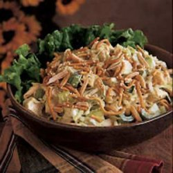 Turkey Almond Salad recipe