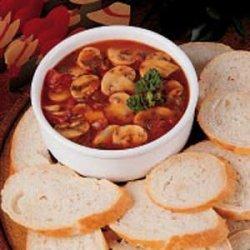 Garlic Mushroom Appetizer recipe