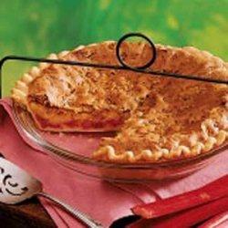 Orange Rhubarb Pie recipe
