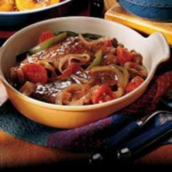 Swiss Steak for Two recipe