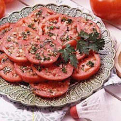 Tasty Marinated Tomatoes recipe