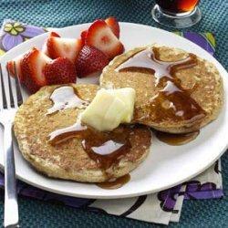 Brown Sugar Oatmeal Pancakes recipe