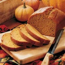 Pumpkin Spice Bread recipe