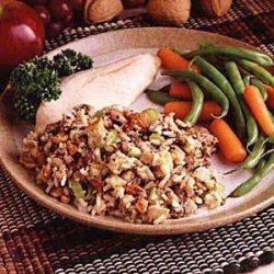 Nelda's Sausage and Rice Dressing recipe
