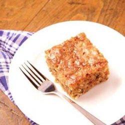 Carrot Cake with Buttermilk Glaze recipe