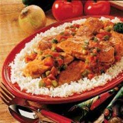 Curry Chicken Dinner recipe