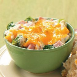 Wild Rice and Ham Casserole recipe