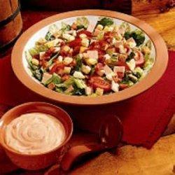 Club Sandwich Salad recipe