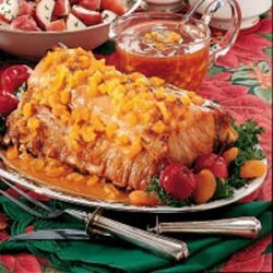 Pork Roast with Fruit Sauce recipe
