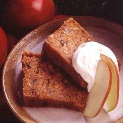 Apple Cake with Buttermilk Sauce recipe