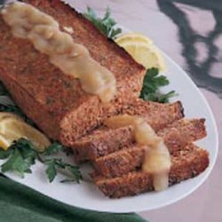 Ham Loaf with Golden Sauce recipe