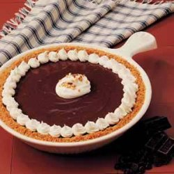 Upstate Chocolate Peanut Butter Pie recipe