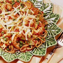 Shrimp and Pasta Supper recipe