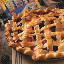 Blackberry Apple Pie recipe