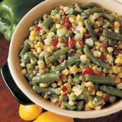 Icebox Vegetable Salad recipe