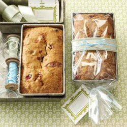 Cranberry Orange Walnut Bread recipe