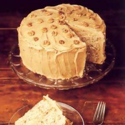 Grandma's Hickory Nut Cake recipe