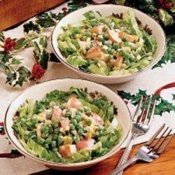 Mother's Sweet Pea Salad recipe