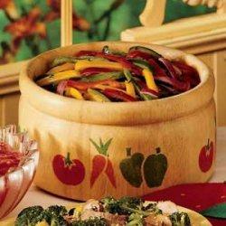 Calico Pepper Salad recipe