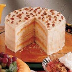 Apricot Layer Cake recipe