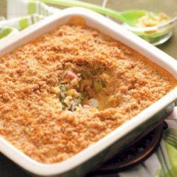 Asparagus and Ham Casserole recipe