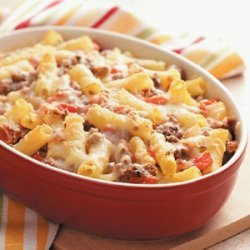 Baked Ziti with Fresh Tomatoes recipe