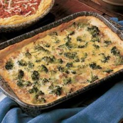 Broccoli Beef Pie recipe