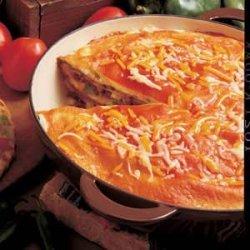 Enchilada Torte recipe