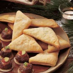 Asian Triangles recipe