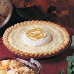 Yogurt Lemon Pie recipe