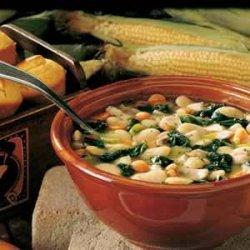 Chicken Lima Bean Soup recipe