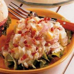 Microwave German Potato Salad recipe