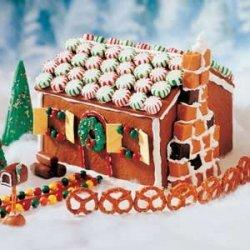 Ellen's Edible Gingerbread House recipe