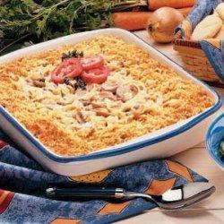 Tuna Mushroom Bake recipe