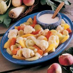 Hot Vegetable Plate recipe