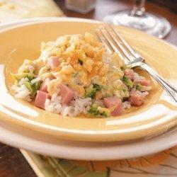 Ham and Broccoli Supper recipe