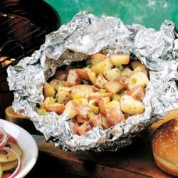 Grilled Parmesan Potatoes recipe